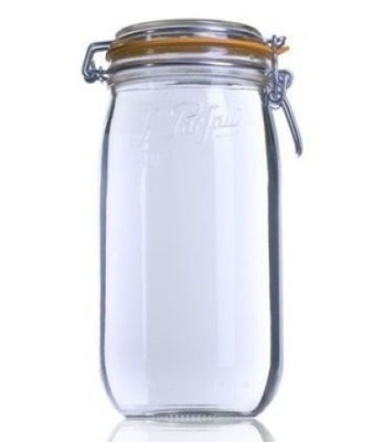 1 Litre Clip Top Le Parfait Jar
