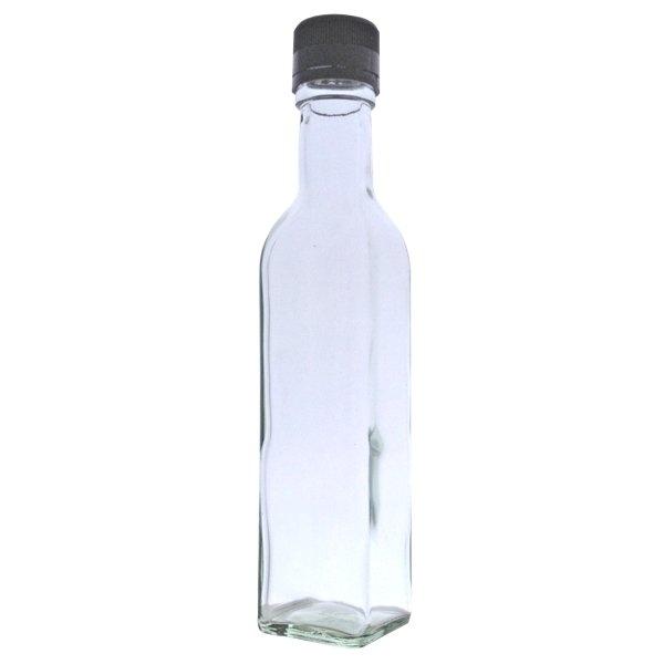 500ml Marasca Bottle with Black Cap