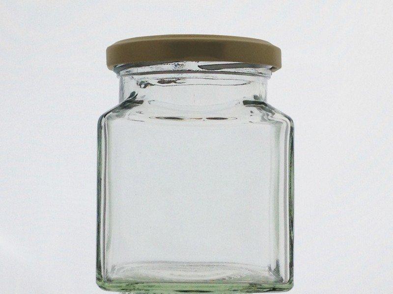 282ml 12oz Square Jar