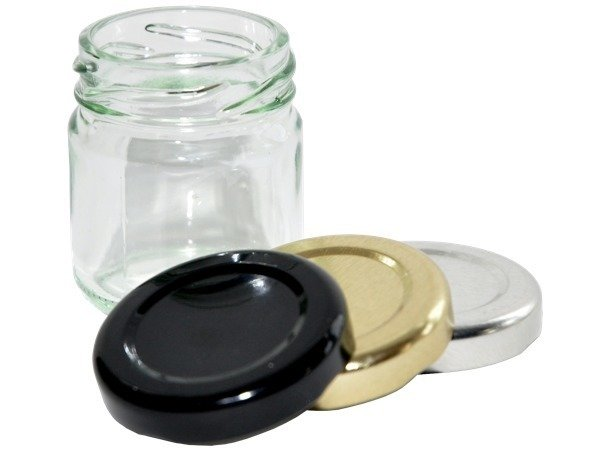 Bulk Buy 41ml 1.5oz Mini Round jar