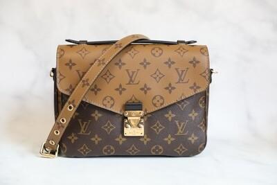 Louis Vuitton Pochette Metis Reverse, New in Box WA001