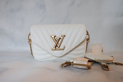 Louis Vuitton New Wave Bag White, New in Box