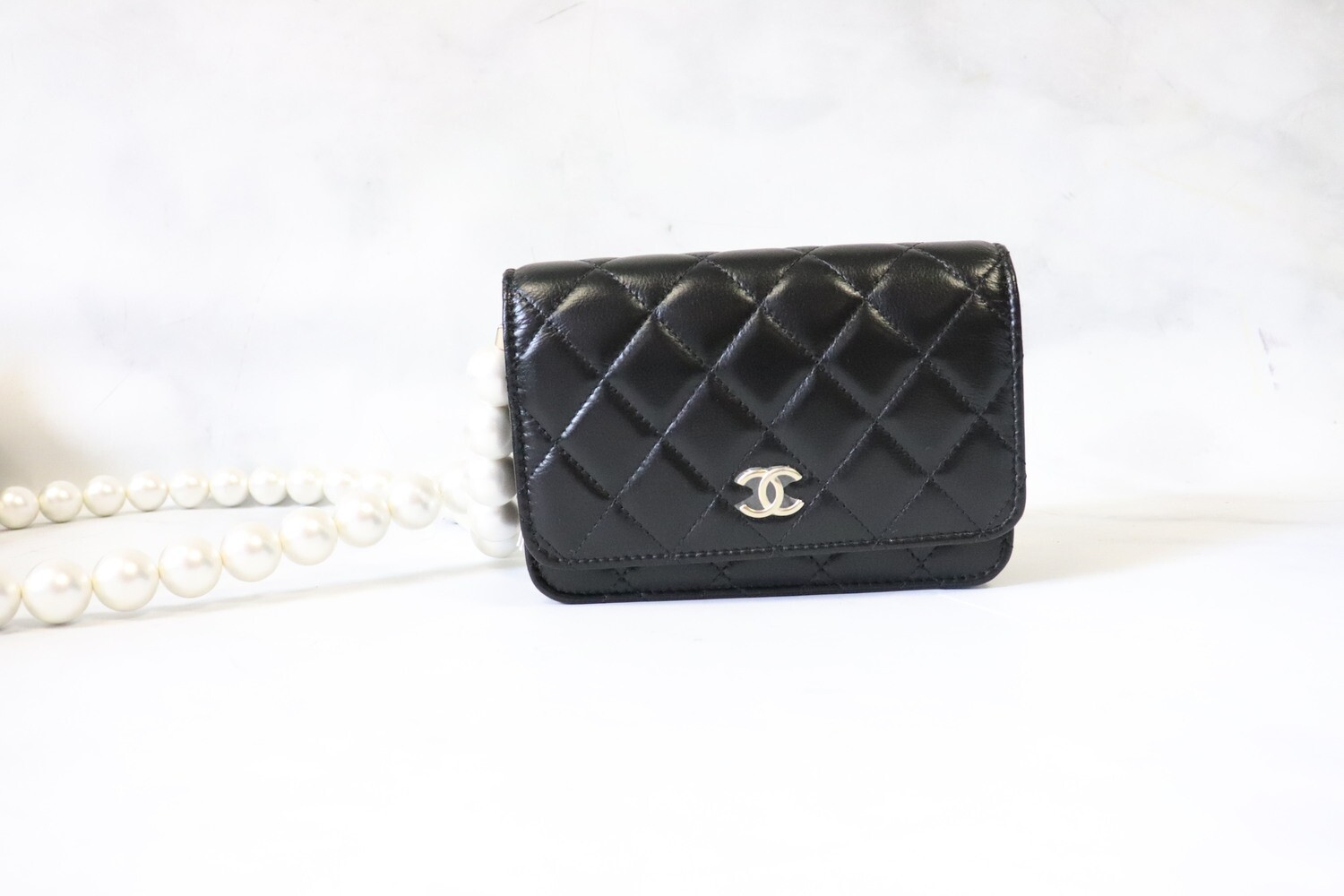 Chanel Wallet on Chain Mini Pearl, New in Box