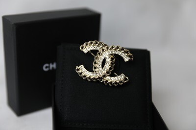 Chanel Chain Statement Brooch, New in Box