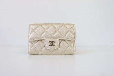 Chanel SLG Gold Wallet, New in Box