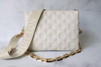 Louis Vuitton Coussins PM Cream, New in Box