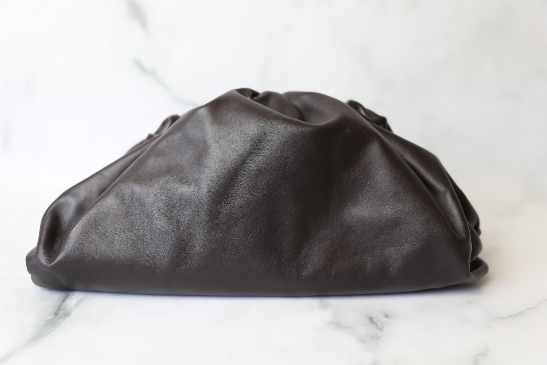 Bottega Veneta The Pouch, Deep Brown, Preowned In Dustbag