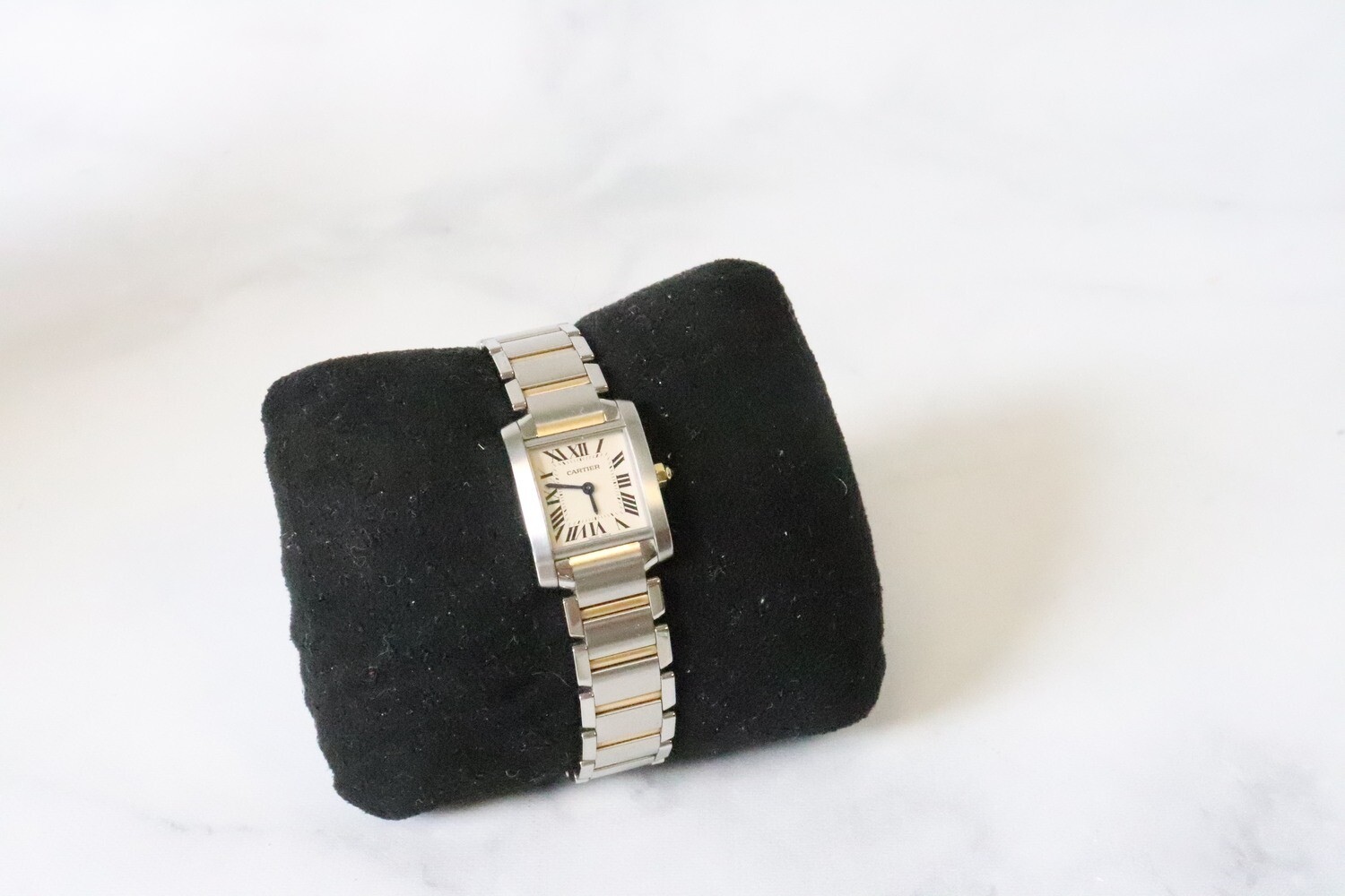 Cartier Tank Watch, Preowned in Box