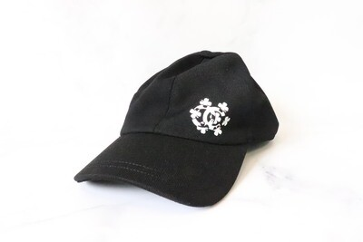 Chanel Hat Baseball, Black with White CC, New - No Dustbag