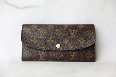 Louis Vuitton Emilie Wallet, Preowned in Box WA001