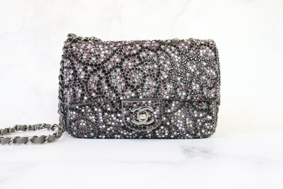 Chanel Sequin Flap Bag, Like New in Dustbag