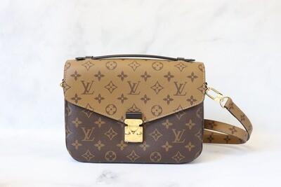 Louis Vuitton Metis Pochette Reverse Monogram, Preowned in Box (No Dustbag)