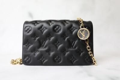 Louis Vuitton Coussin Pochette, Black, New in Box WA001