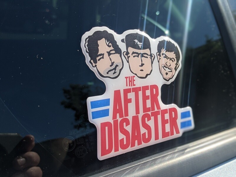 After Disaster Domed Decal