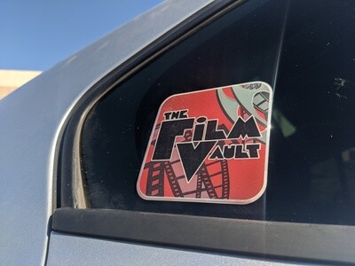 The Film Vault Domed Decal