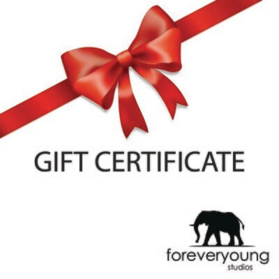 Forever Young Gift Certificate