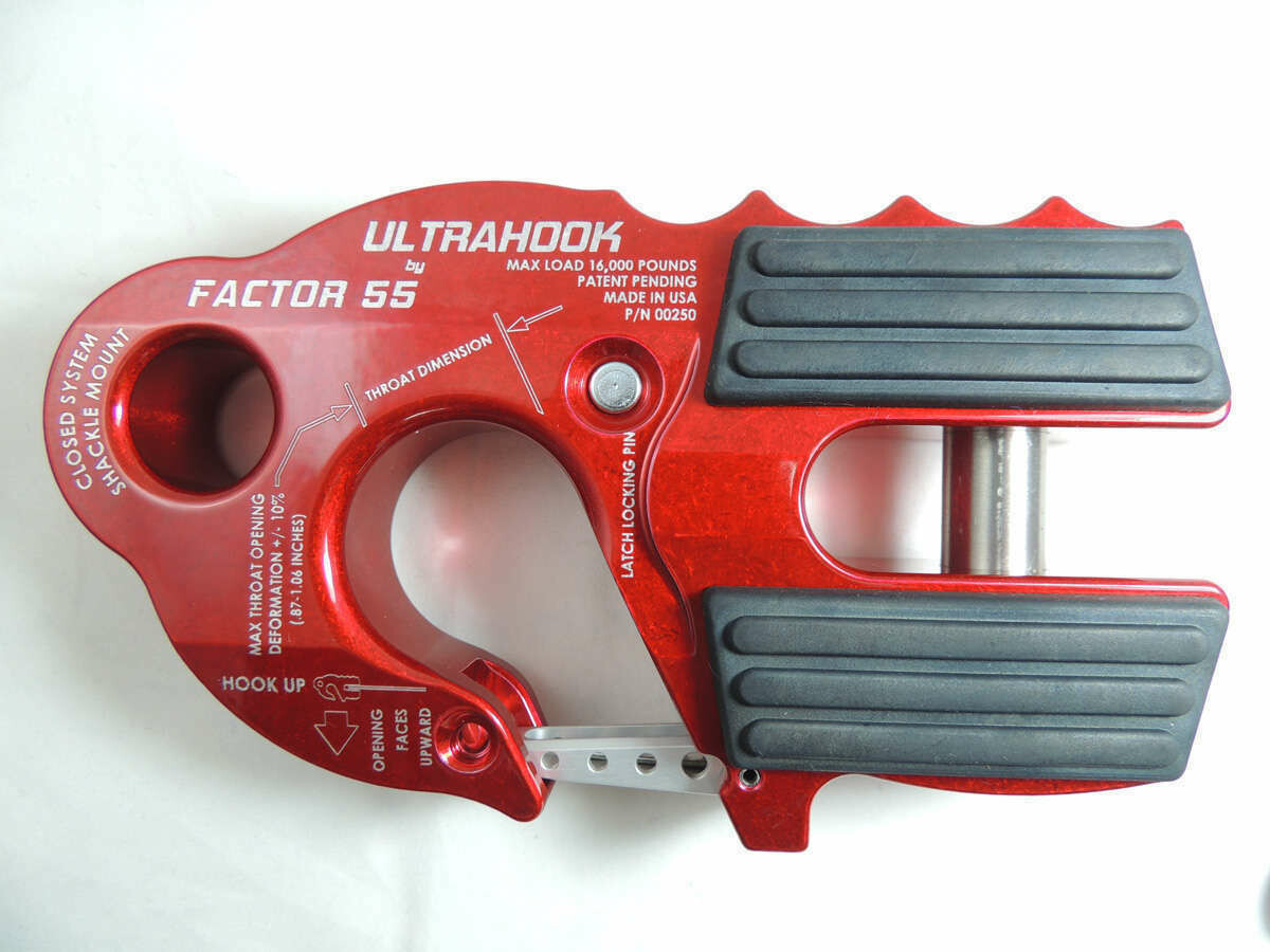 Factor 55 Ultrahook rot, AL8t / BL16t