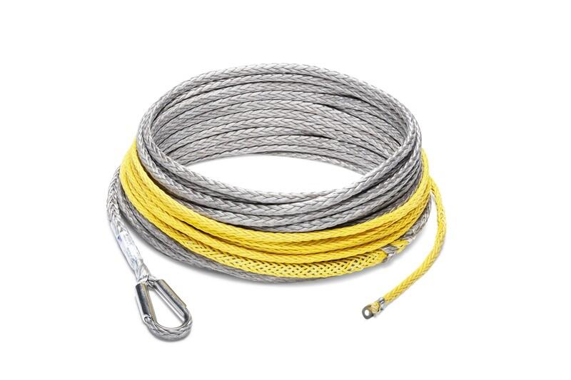 Seilflechter Windenseil für Seilwinde bis 6t / 30m ohne Haken! Farbe Rot