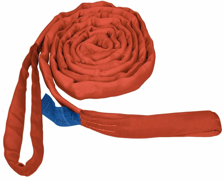 Seilflechter Forstrundschlinge 3m, für Seilwinde bis 6t rot