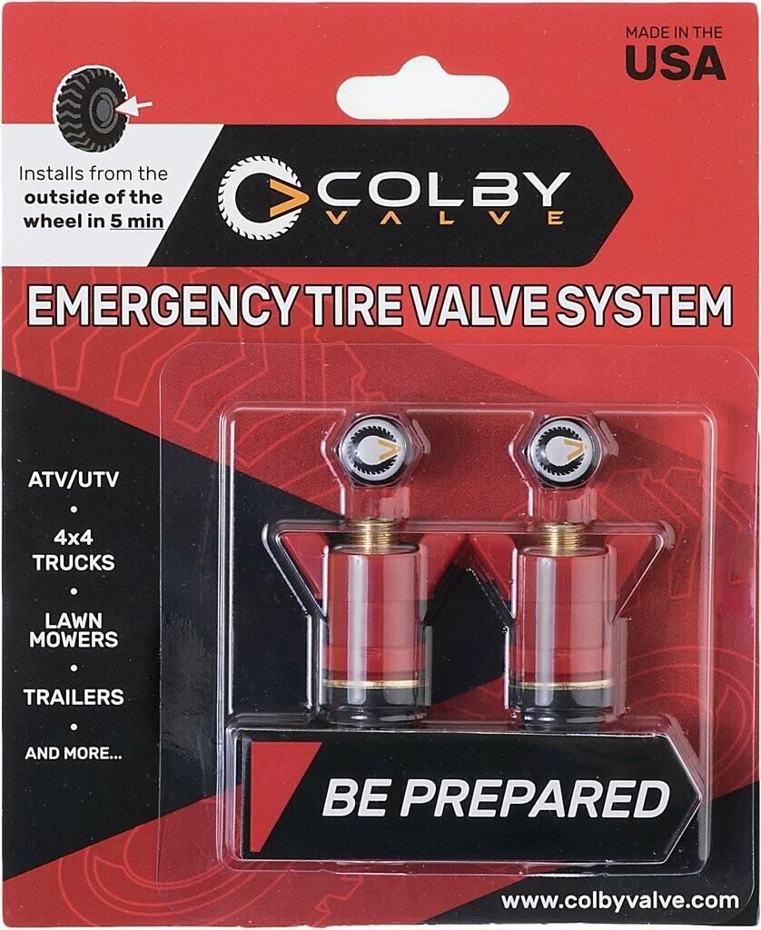 COLBY VALVE 2er Pack, Emergency Tyre Valve System
