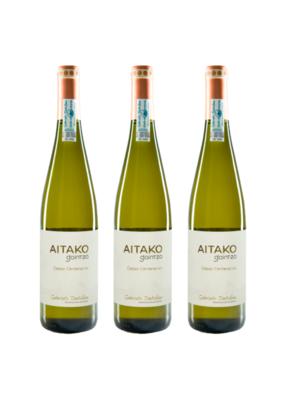 Txakoli AITAKO de Gaintza, 3 botellas