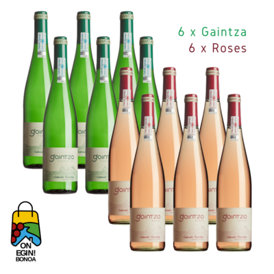 Pack 6 Gaintza - 6 Roses