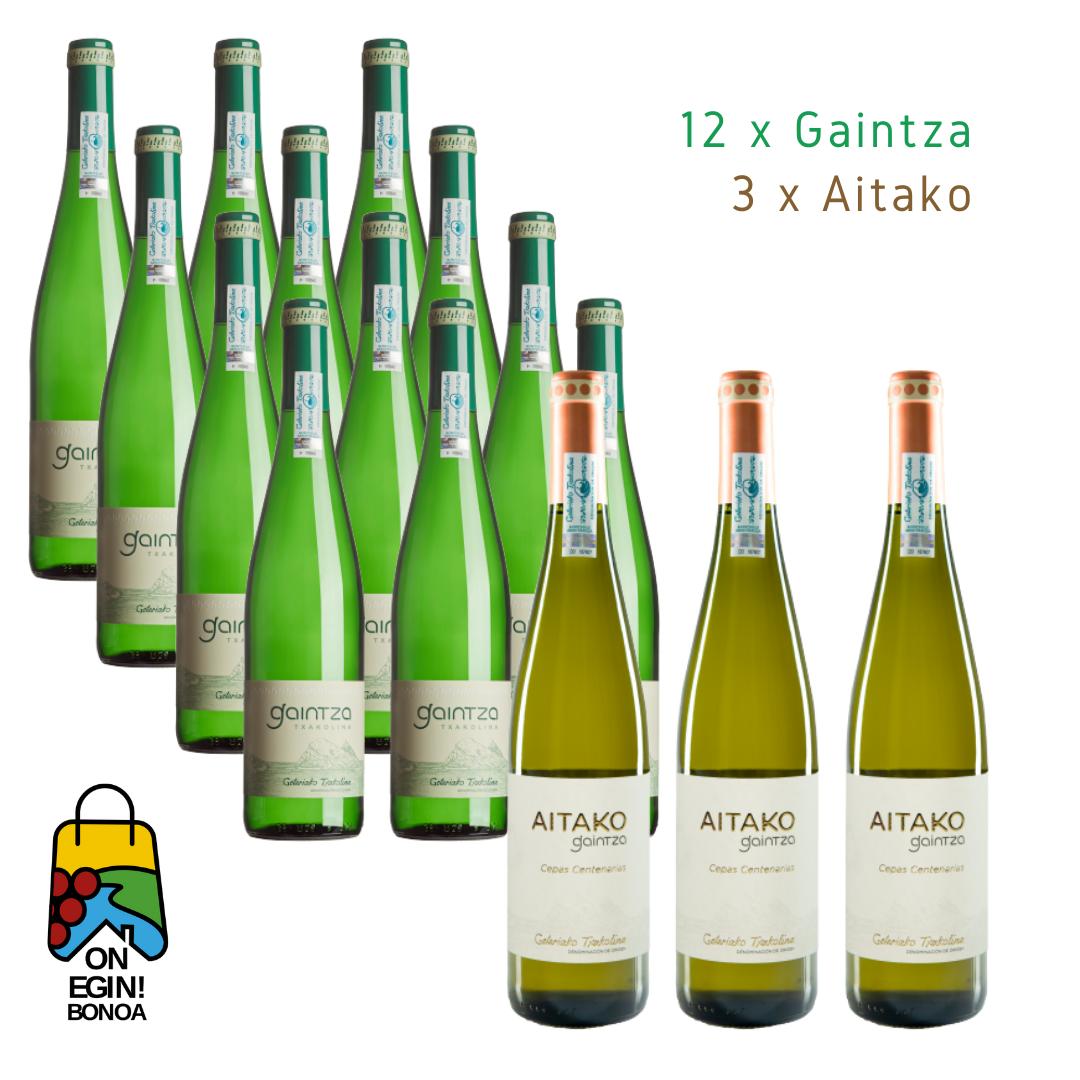 Pack 12 Gaintza - 3 Aitako