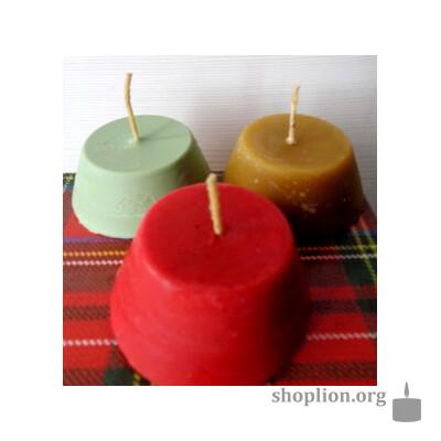 Набор восковых свечей с установкой на лад в семье