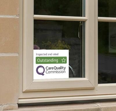 6 x CQC Window Stickers