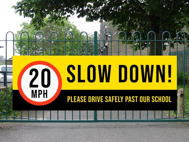Slow Down 20mph