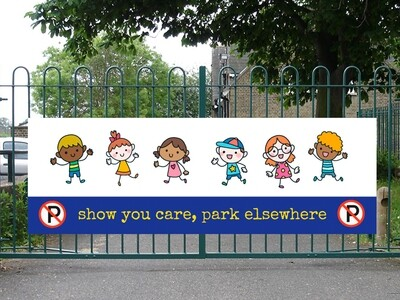 Show you care, park elsewhere