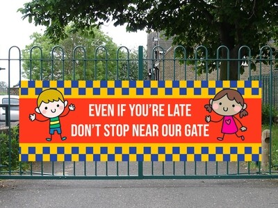 If You're Late, Don't Stop Near Our Gate