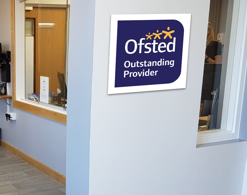 Ofsted PVC Board - 'Good' & 'Outstanding'