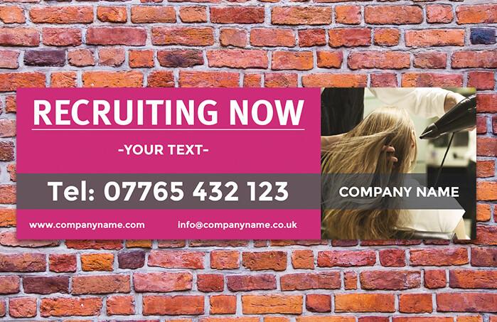 Recruitment Banner (Hairdressing)