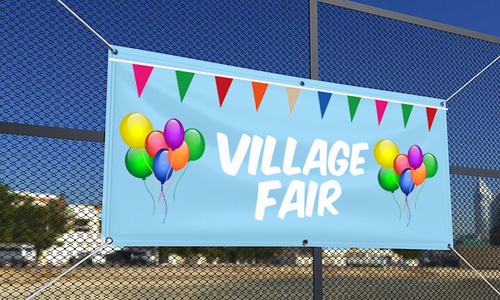 Village Fete Banner