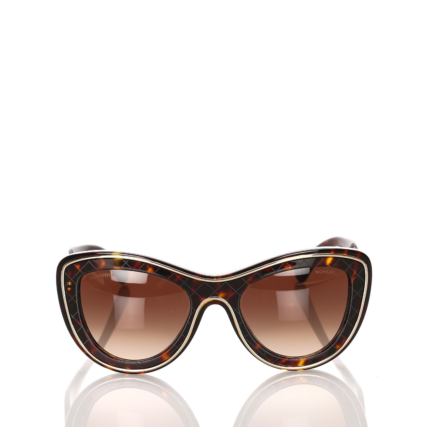 CC Cat Eye Tinted Sunglasses