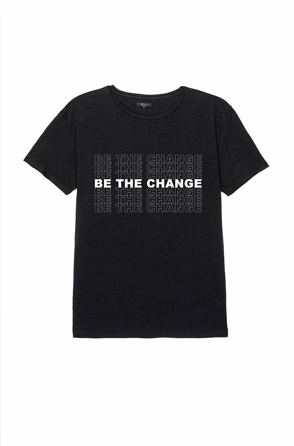 be the change tee