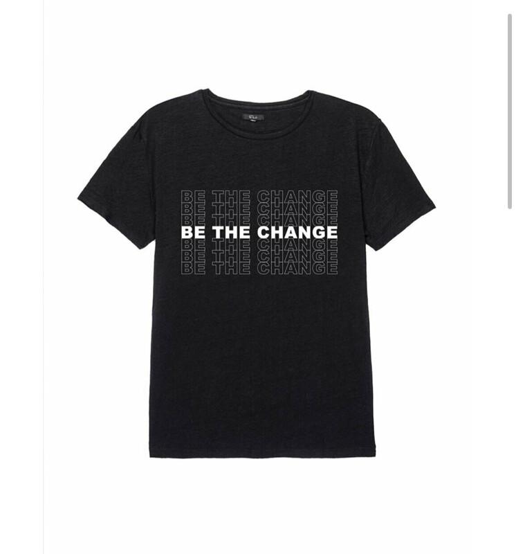 be the change tee men's