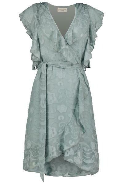 pippa ruffle dress
