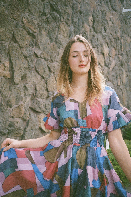 cubism dress