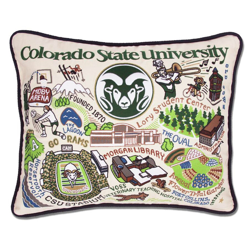 Colorado State University Pillow