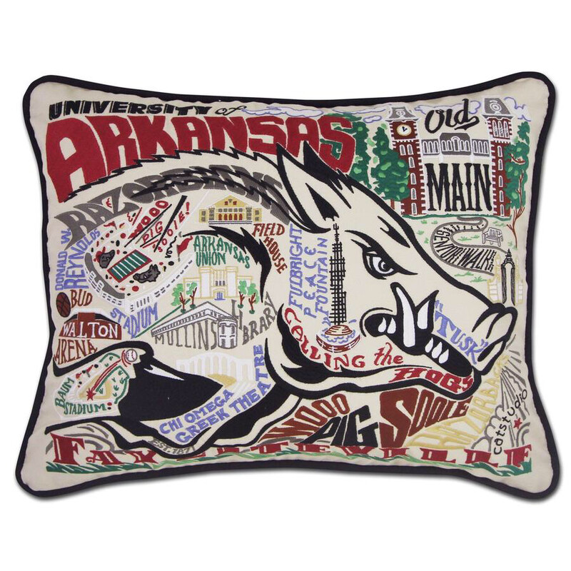 University of Arkansas Pillow