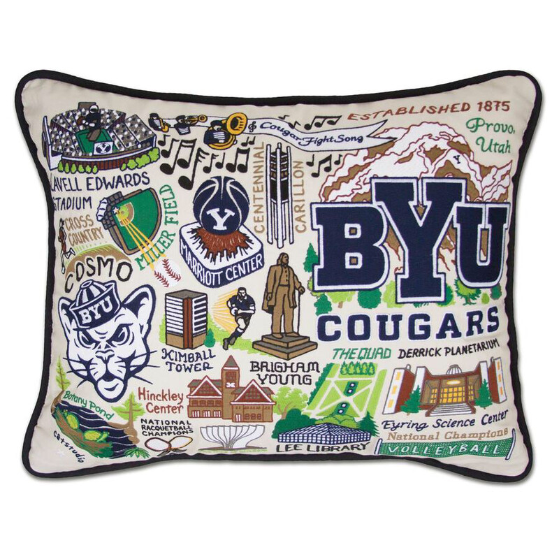Brigham Young University Pillow