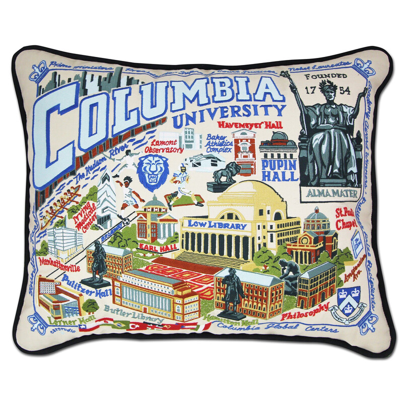 Colombia University Pillow