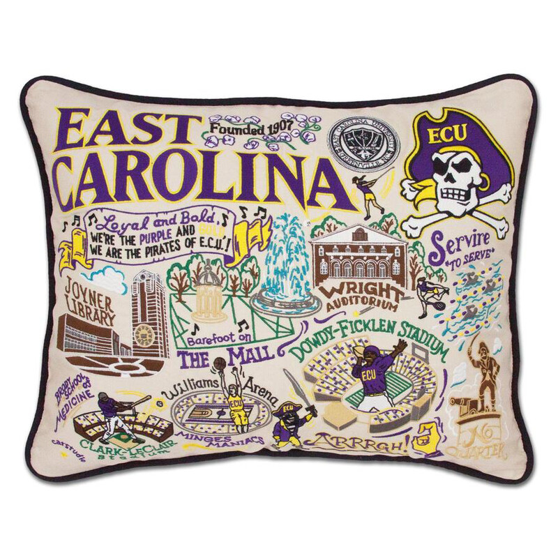 East Carolina University Pillow