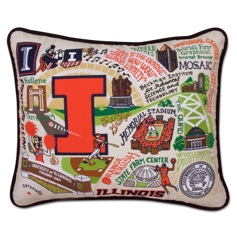University of Illinois Pillow