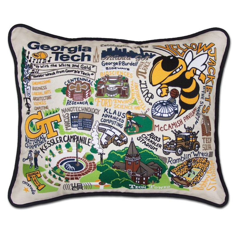 Georgia Tech Pillow