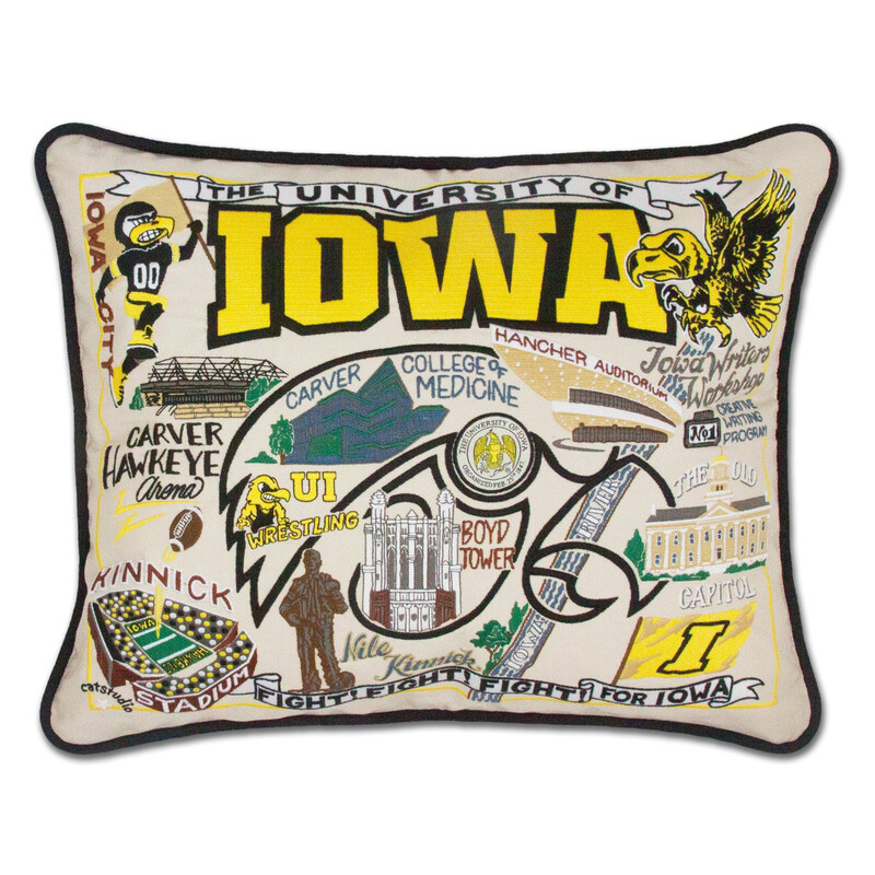 University of Iowa Pillow