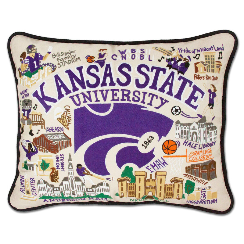 Kansas State University Pillow
