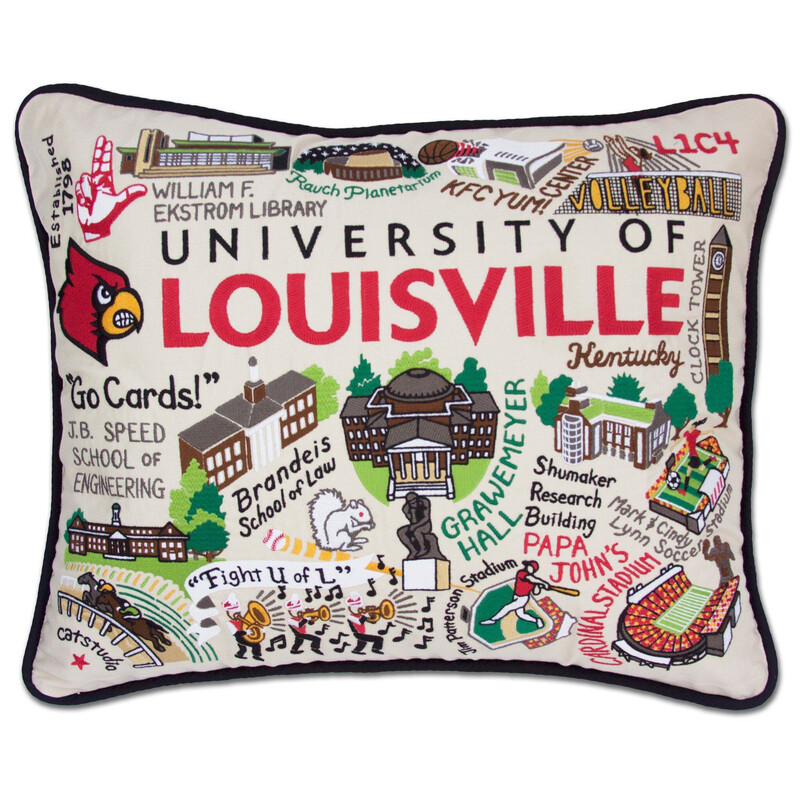University of Louisville Pillow